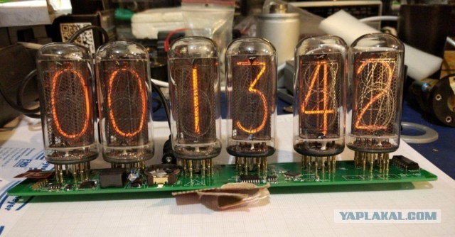 Основа для часов на лампах ИН-18 Nixie Clock