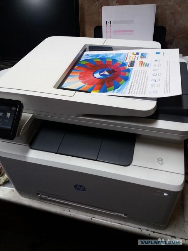 Цветной лазерный мфу HP color LaserJet Pro M277dw в Питере