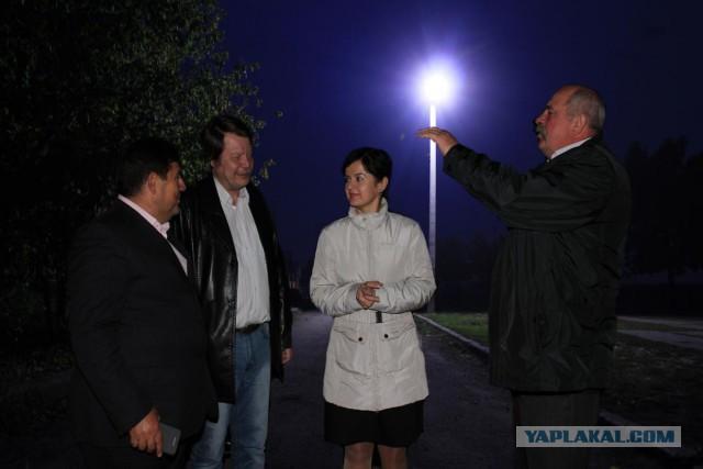 Челябинские чиновники отчитались о благоустройстве деревни с помощью фоторедактора