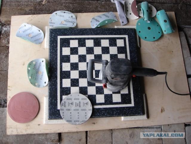Шахматная доска сделать своими руками