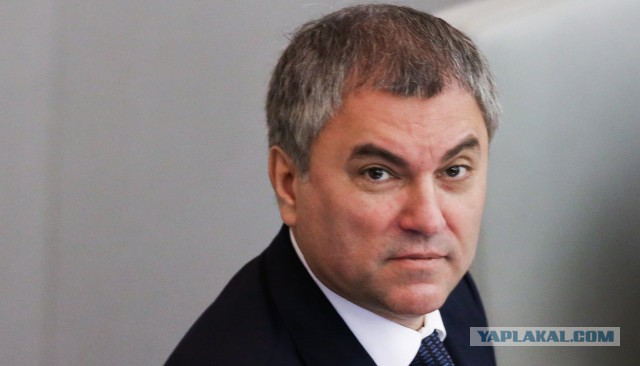 Вячеслав Володин проголосовал за законопроект об изоляции Рунета во втором чтении. Хотя находился в 800 километрах от Госдумы