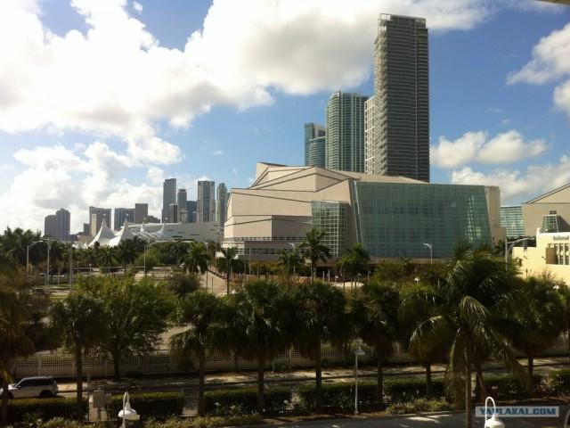 Майами город солнца и океана.