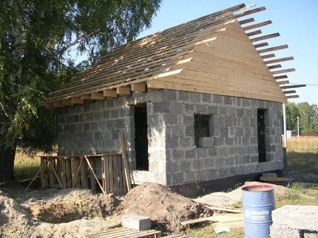 Строительство дачных домов своими руками из керамзитобетонных блоков