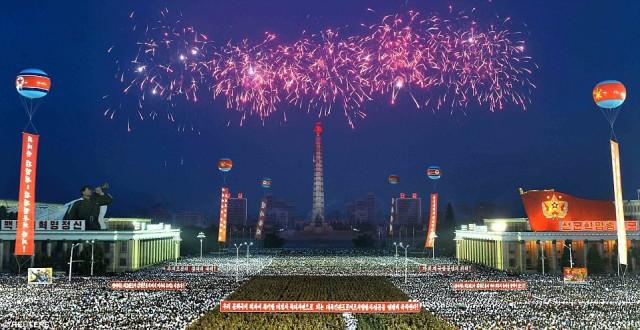 Как Северная Корея отпраздновала запуск первой межконтинентальной баллистической ракеты