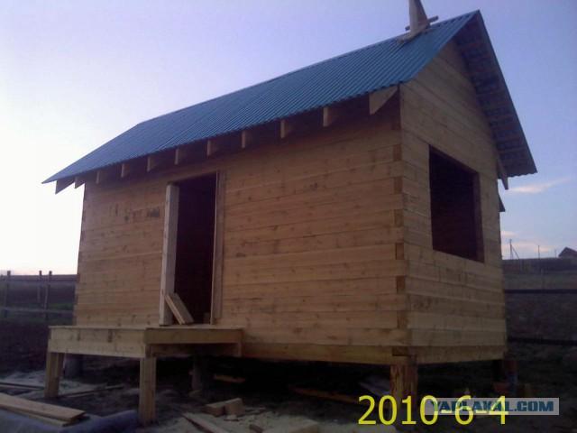 Отчет о постройке бани, упор на парилку