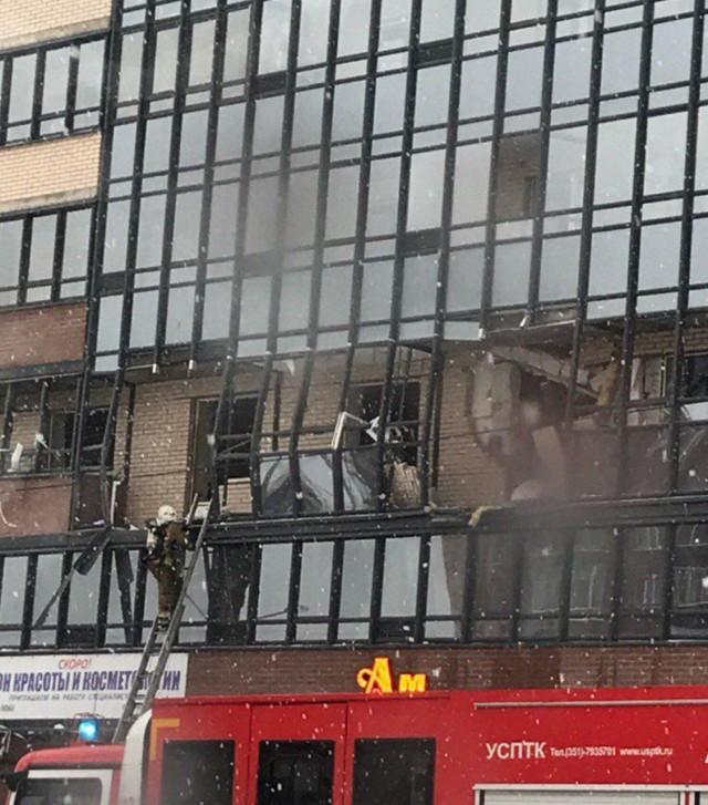 Взрыв в Питере