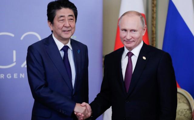 Абэ заявил о «решающем моменте» в диалоге с Россией по мирному договору
