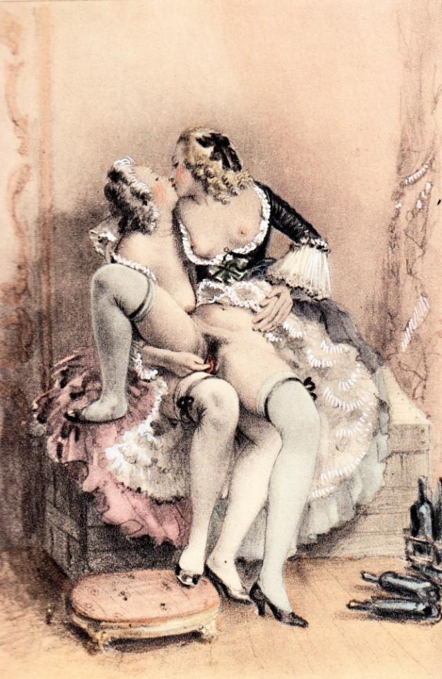 Эротическая живопись до изобретения фотграфии