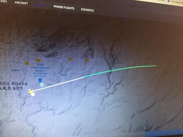 Самолёт авиакомпании Ethiopian Airlines с 149 пассажирами и 8 членами экипажа потерпел крушение