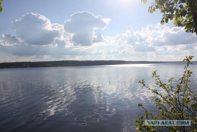 Поездка на озеро Комсомольское