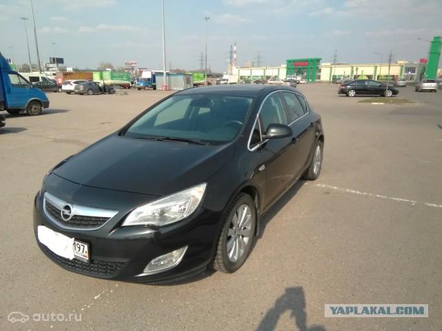 Продаётся Opel Astra J в Мск