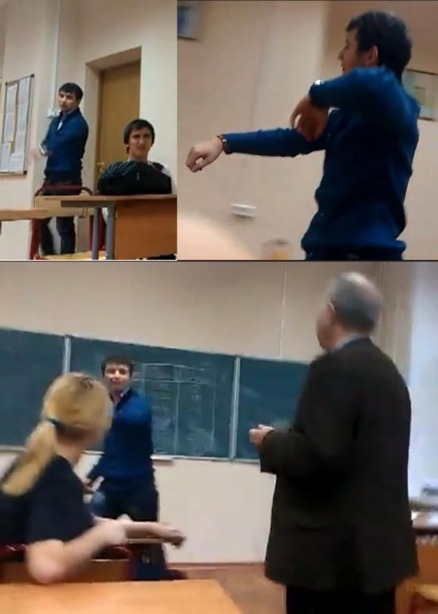 В московском колледже издеваются над учителем