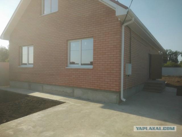 Продаю новый дом в Краснодаре (пос. Южный)