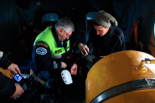 Спасатели нашли робинзона в Белом море