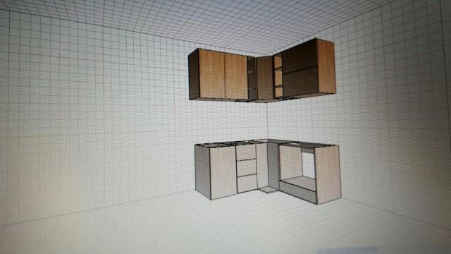 Мастерим кухню в панельке 7 квадратов