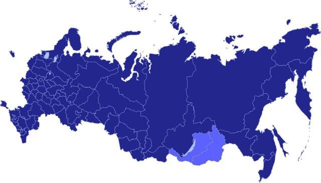 Бурятия и Забайкалье переданы из Сибирского в Дальневосточный федеральный округ