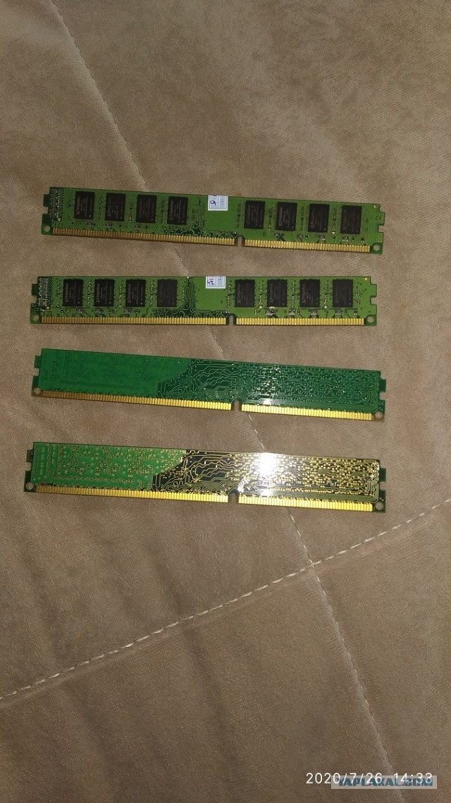 16gb DDR3 PC3-12800 1600мгц 4 модуля по 4гб МСК\РФ