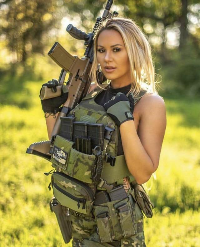 Девицы с оружием