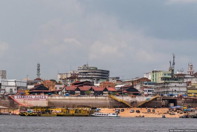 Манаус: невнятный город, но красивая природа и дельфинчики!