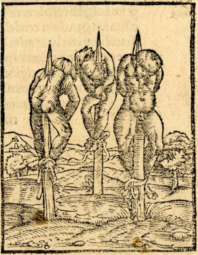 Самые жестокие и зверские способы казни в истории