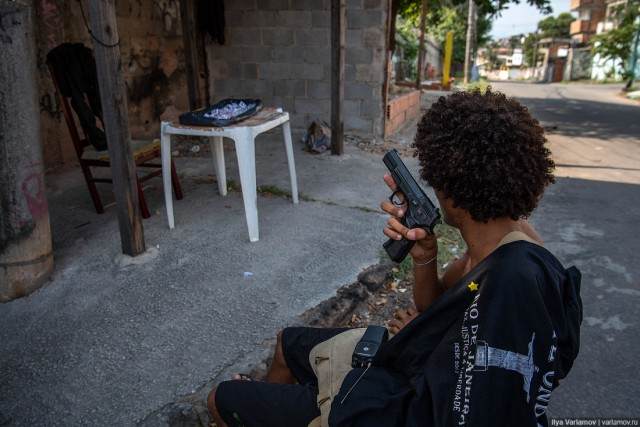 Фавелы Рио-де-Жанейро: А.У.Е. по-бразильски