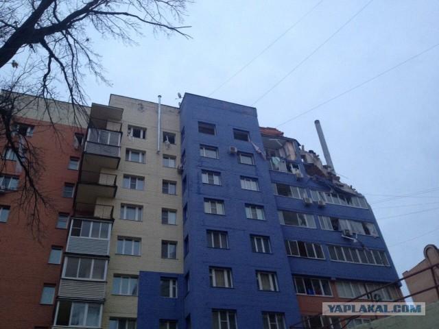Газ взорвался в новостройке в Рязани, трое погибли