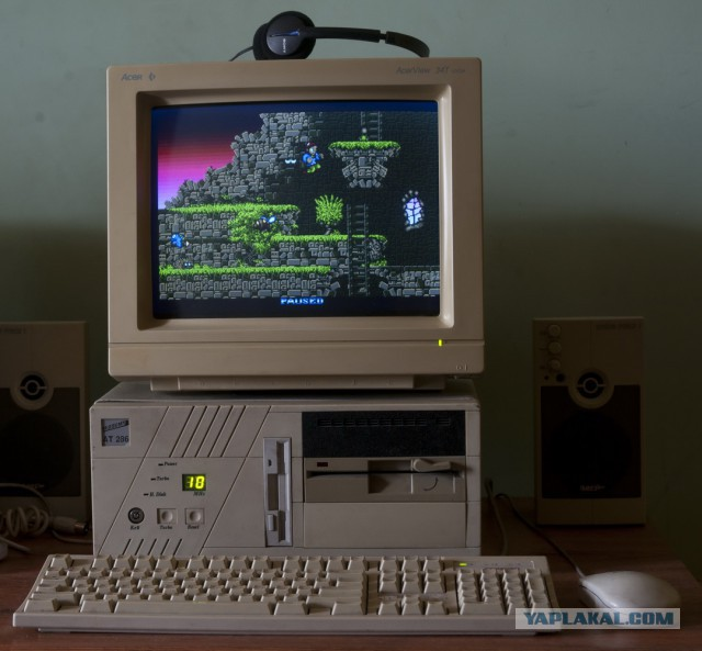 Компьютеры 1984-1990 годов в качестве игровых на базе 286 процессора в 2017 году )