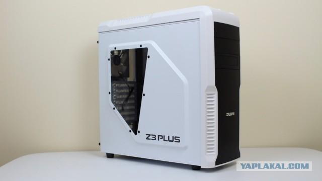 Компьютерный корпус Zalman Z3 Plus White отл.сост МСК