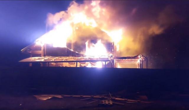 Сгорел новый дом, застройщик отказывается признавать факт постройки