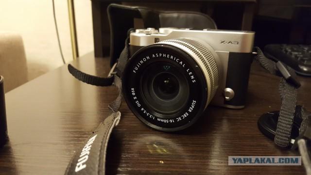 Продам фотоаппарат Fujifilm X-A3 KIT 16-50 mm