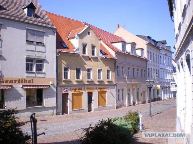 Продам в Германии дом с кафе, офисом, гаражом и участком 55 тыс евро