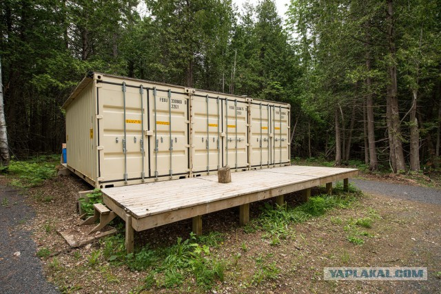 Летний домик из контейнеров