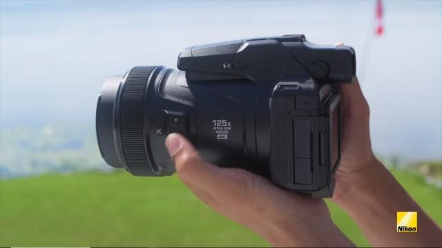 Вот это я понимаю обалденный зум! Nikon представила камеру P1000 с рекордным 125-кратным зумом