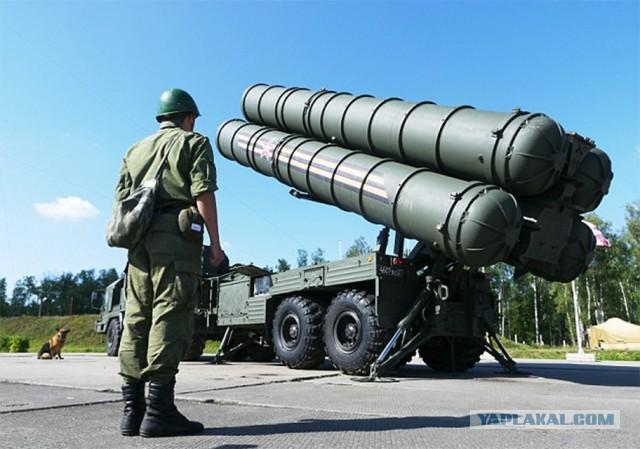 Россия развернула в Сирии ракетные комплексы C-400