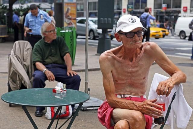 Из жизни жителей Нью-Йорка