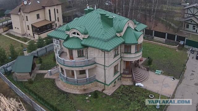 Дом, построенный Георгадзе, подарили жене