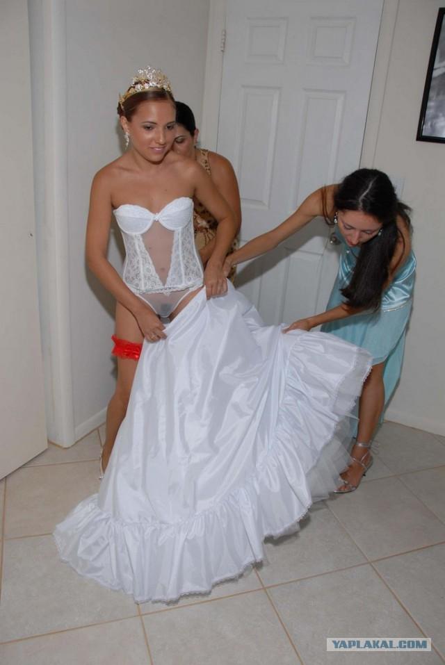Подглядеть невесты пати