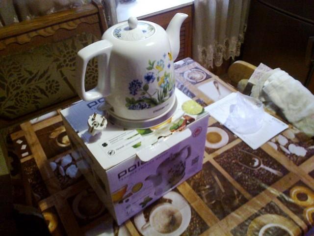 Чайник Polaris керамика