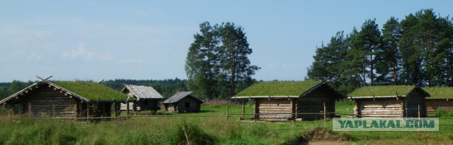 Славянская деревня Х века