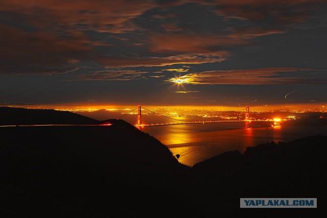 Прогулка по городу Сан Франциско