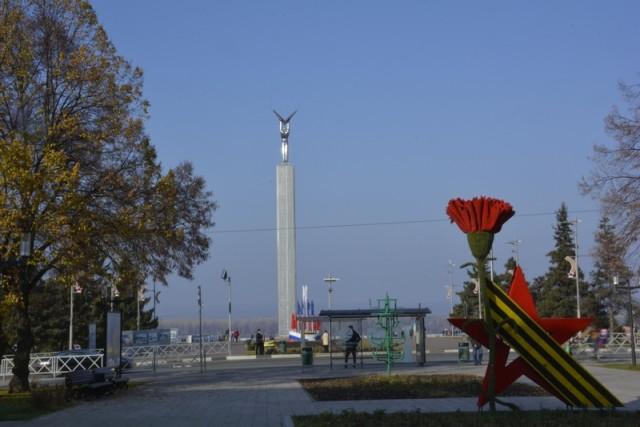 Самара. Площадь Славы и набережная. Фото дилетанта