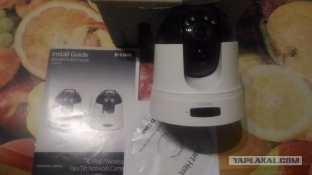 Продам в Питере Видеокамера сетевая D-link DCS-5211L