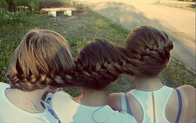 Картинки коса на длинные волосы - 6a8b4