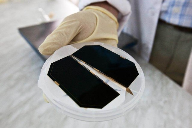 Солнечные батареи для космоса