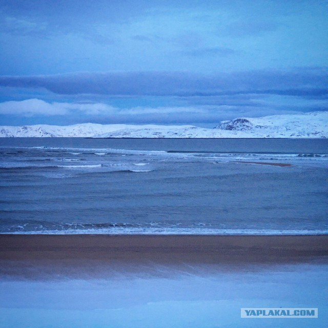 Мой Новый Год на море. Баренцевом море.