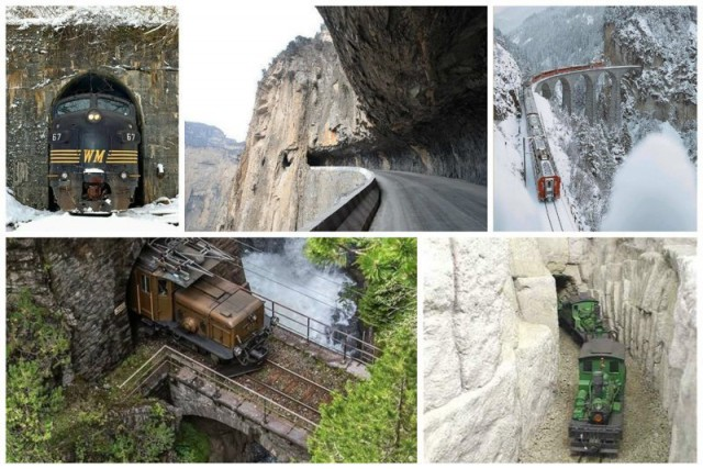 Невероятные тоннели - страшные и опасные