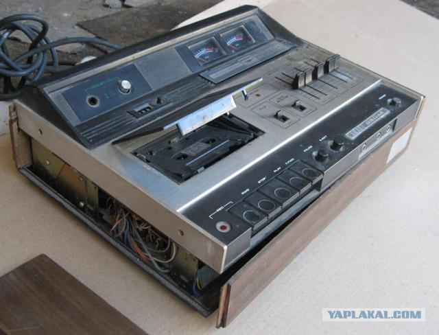 Магнитофоны моего детства