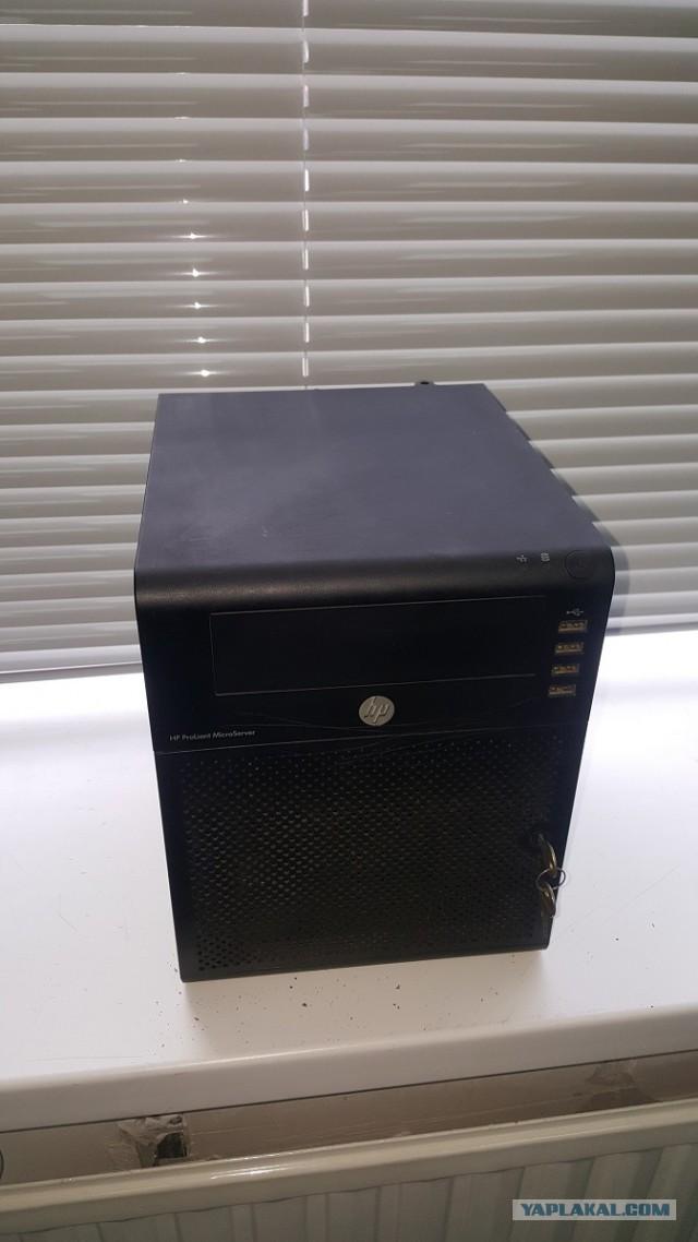 HP Microserver Gen7 + 4x2TB + 3TB + raid LSI 9260-4i