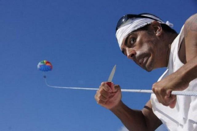 Забавные фото парашютистов