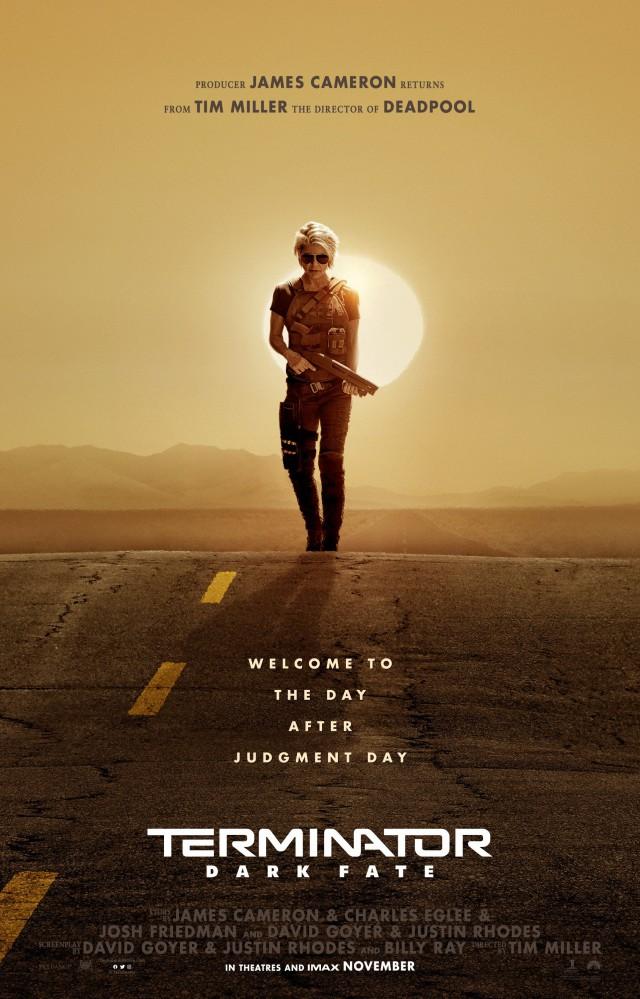 """Официальный постер грядущего фильма """"Terminator: Dark Fate"""""""
